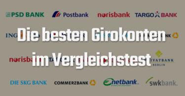 besten Banken für ein kostenloses Girokonto im Vergleichstest