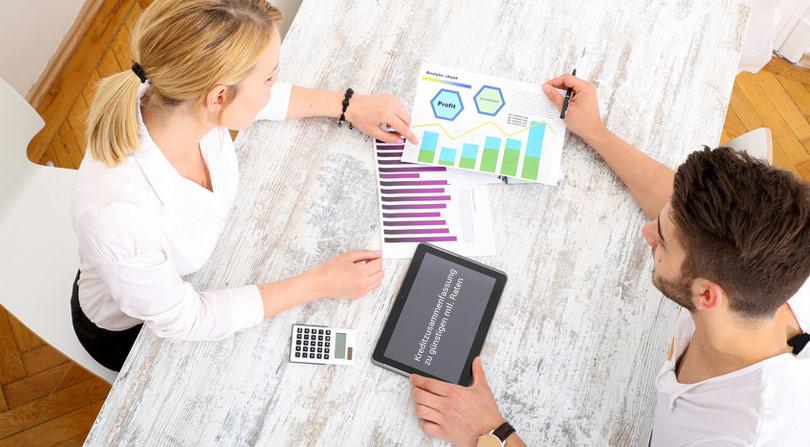 Kreditzusammenfassung bzw. Kredite zusammenfassen
